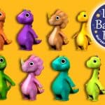 Ten Little Dinosaurs