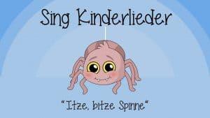 Itze Bitze Spinne
