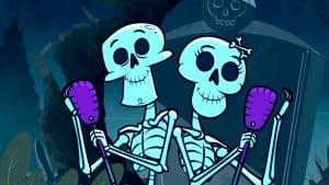 Los alegres esqueletos