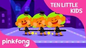 Ten Little Tap Dancing Kids