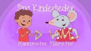 Mannometer Millimeter