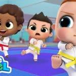Kick, Kick, Punch! This Is Karate!